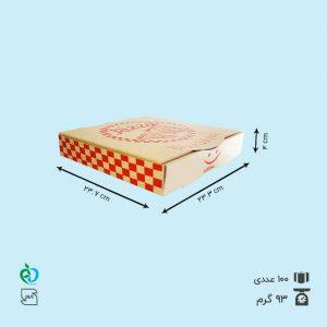 جعبه پیتزا تک نفره