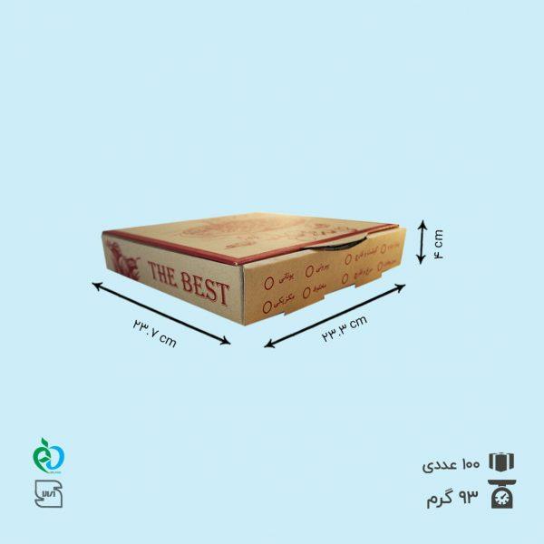 جعبه پیتزا کرافت