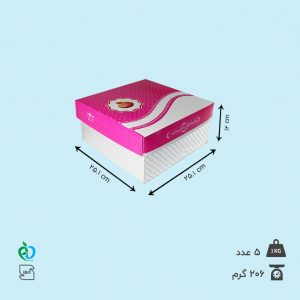 جعبه کیک عمده