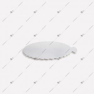 صفحه کیک مقوایی سفید قطر23