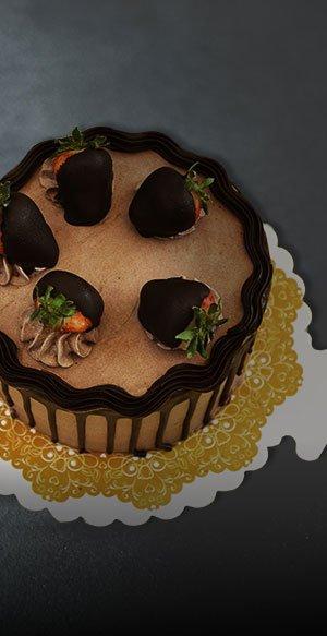 cardboard cake tray