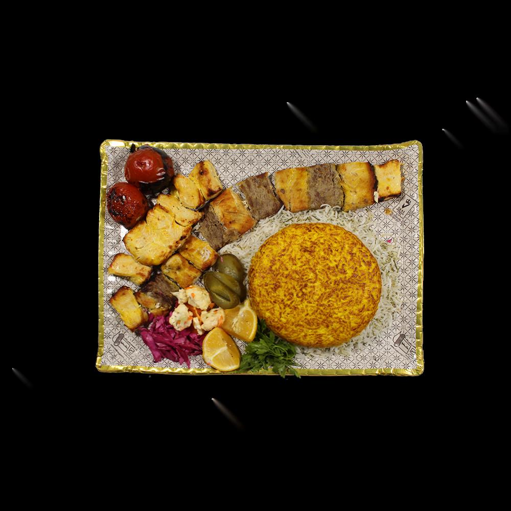 Cardboard Platter