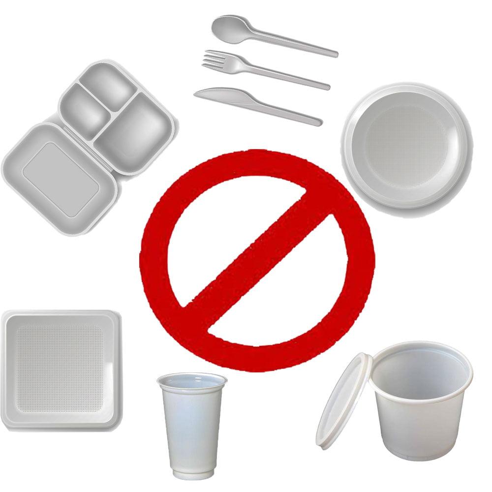 ممنوعیت استفاده از ظروف پلاستیکی