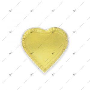 دیس یک بار مصرف مقوایی مدل قلب