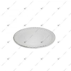 دیس یک بار مصرف مقوایی سه لایه دایره قطر 31