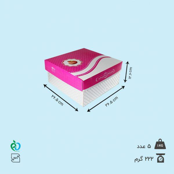 قیمت جعبه کیک عمده