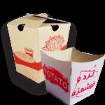 جعبه سیب زمینی سوخاری