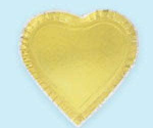 بشقاب یکبارمصرف قلب