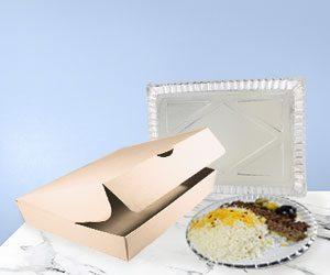 جعبه و ظروف مقوایی رستورانی